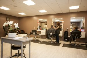 On-Site Hair Salons at Amber Court